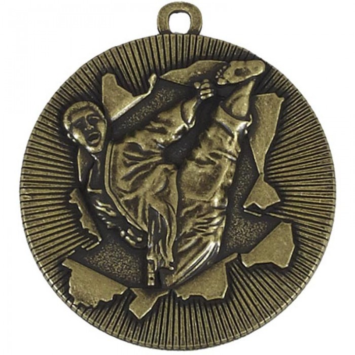 50MM KARATE  MEDAL - GOLD