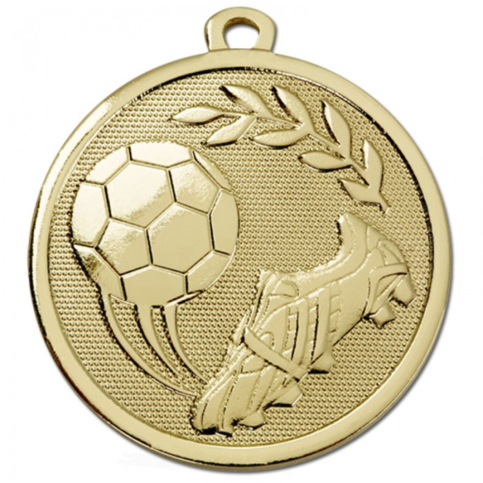 45MM FOOTBALL MEDAL - 2 COLOURS