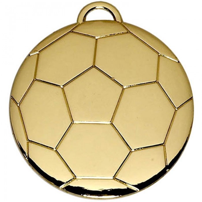 40MM FOOTBALL MEDAL - 2 COLOURS