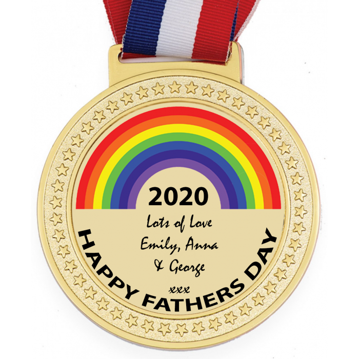 WOW A VERY SPECIAL AWARD  - OLYMPIC SIZED 100MM MEDALS (6MM THICK) - LOCKDOWN 2020 PERSONALISED WITH YOUR MESSAGE - FREE POSTAGE