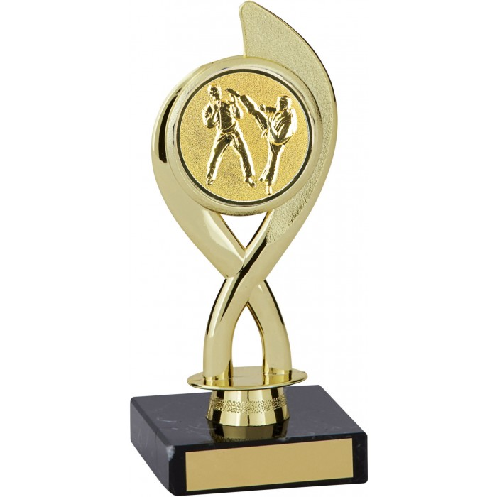 7'' MARTIAL ARTS PLASTIC  TROPHY