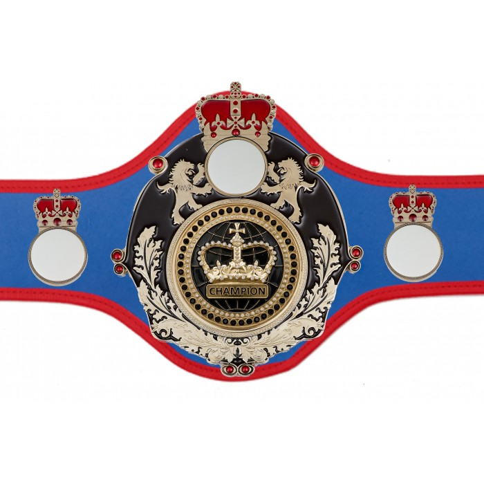 CHAMPIONSHIP BELT QUEEN/B/S/BLKGEM - AVAILABLE IN 10+ COLOURS