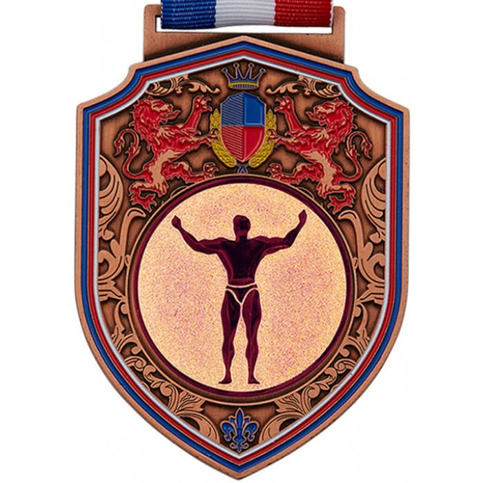 100MM REGAL BODYBUILDING MEDAL - BRONZE