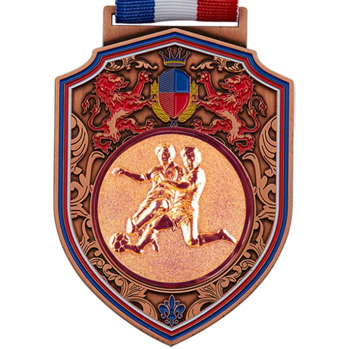 100MM REGAL MALE FOOTBALL MEDAL - BRONZE
