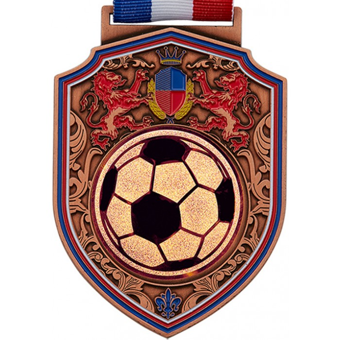 100MM REGAL FOOTBALL MEDAL - BRONZE