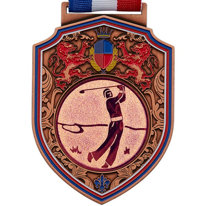 100MM REGAL GOLF MEDAL - BRONZE