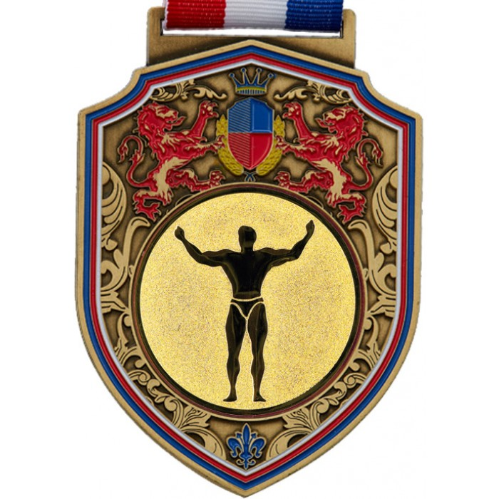 100MM REGAL BODYBUILDING MEDAL - GOLD