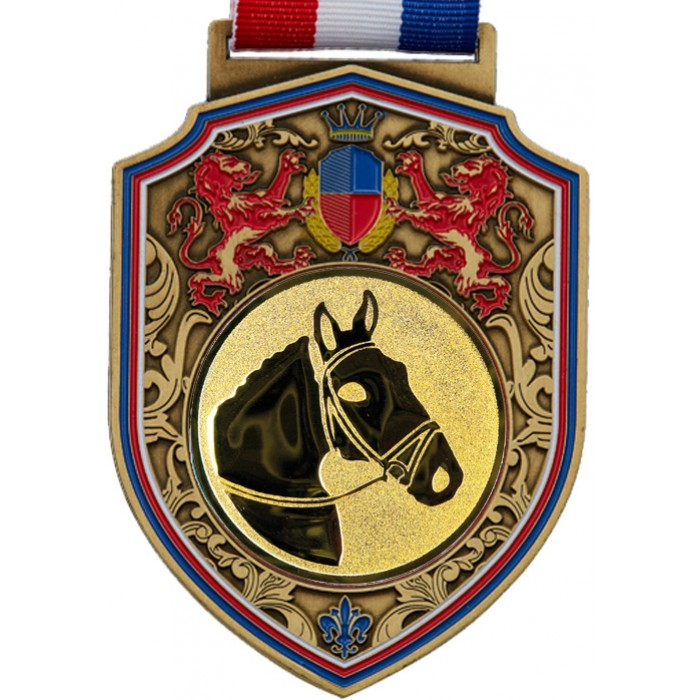 100MM REGAL HORSE RIDING - GOLD