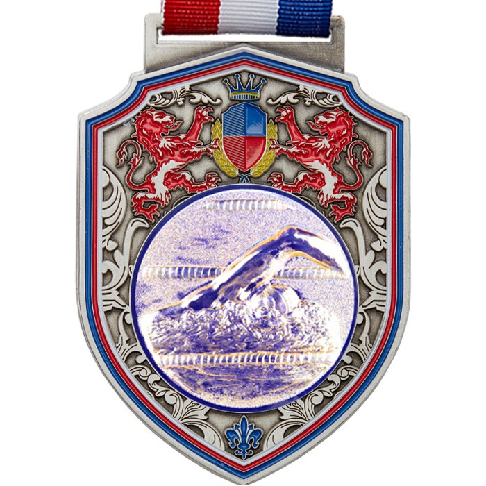 100MM REGAL SWIMMING MEDAL - SILVER
