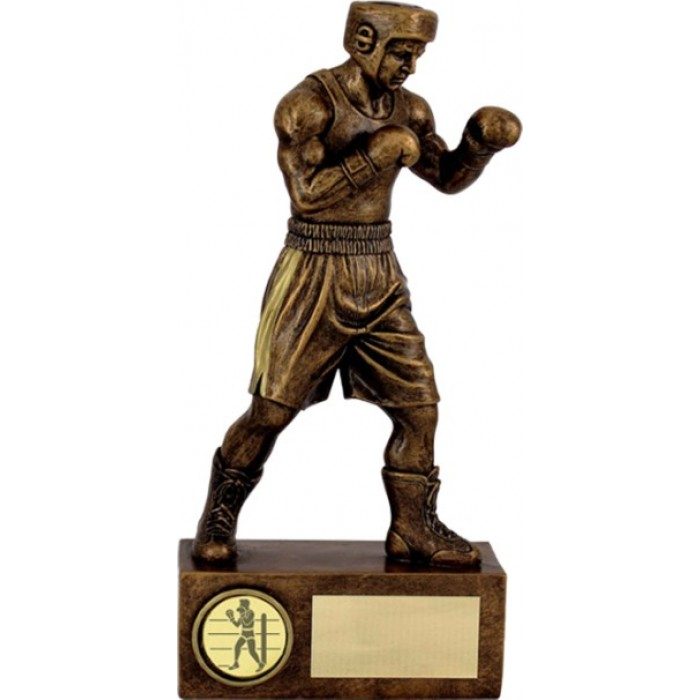 BOXING FIGURE RESIN TROPHY 3 SIZES STARTING FROM 7.5''