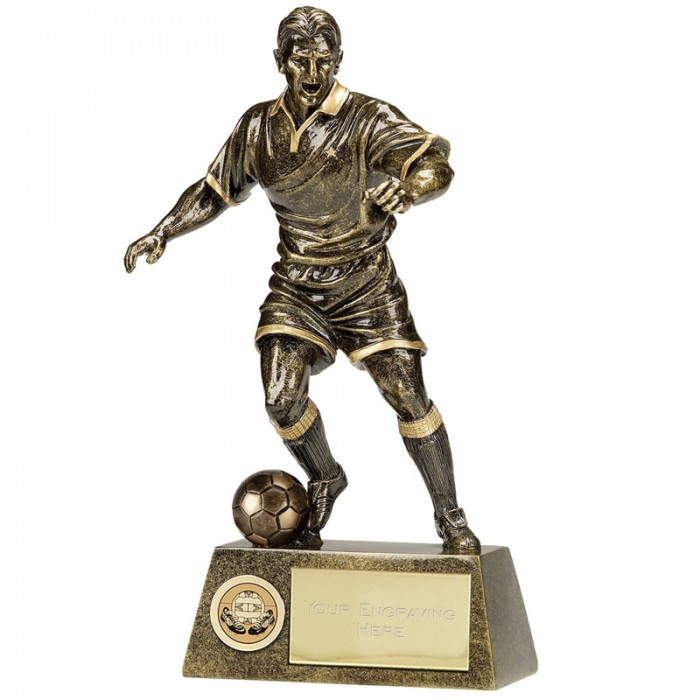 FOOTBALL FIGURE RESIN TROPHY 6 SIZES STARTING FROM 6""