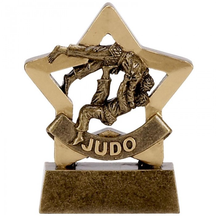 JUDO GOLD MINI STAR RESIN - 3.25''