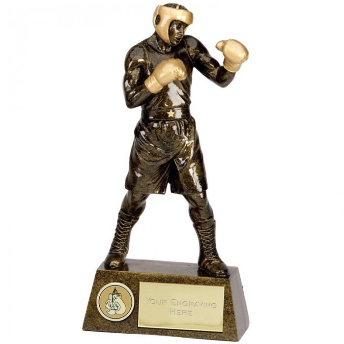BOXING FIGURE RESIN TROPHY 4 SIZES STARTING FROM 7.5''