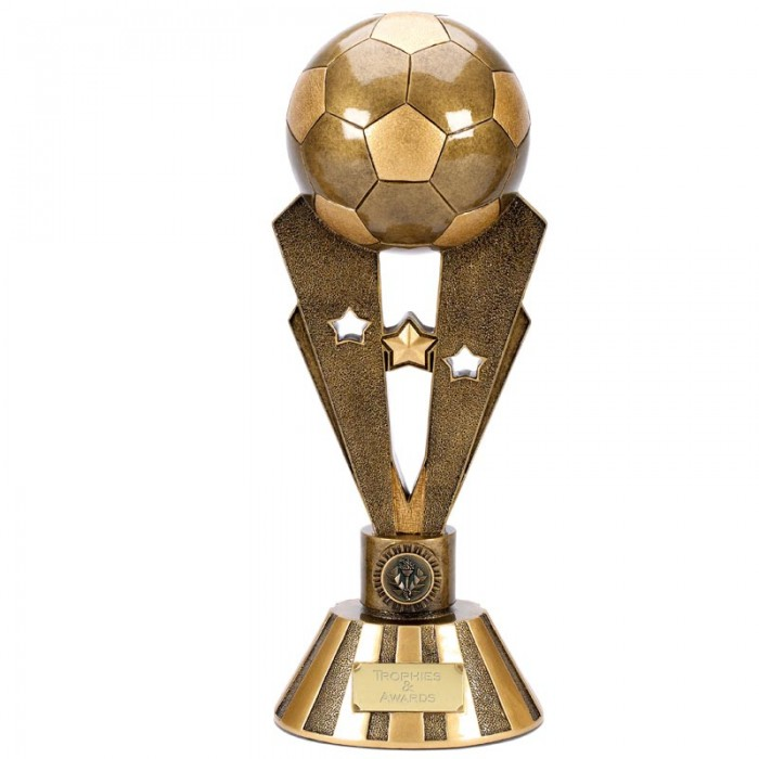 LARGE FOOTBALL RESIN TROPHY - 15''