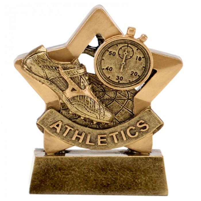 ATHLETICS GOLD MINI STAR RESIN - 3.25''