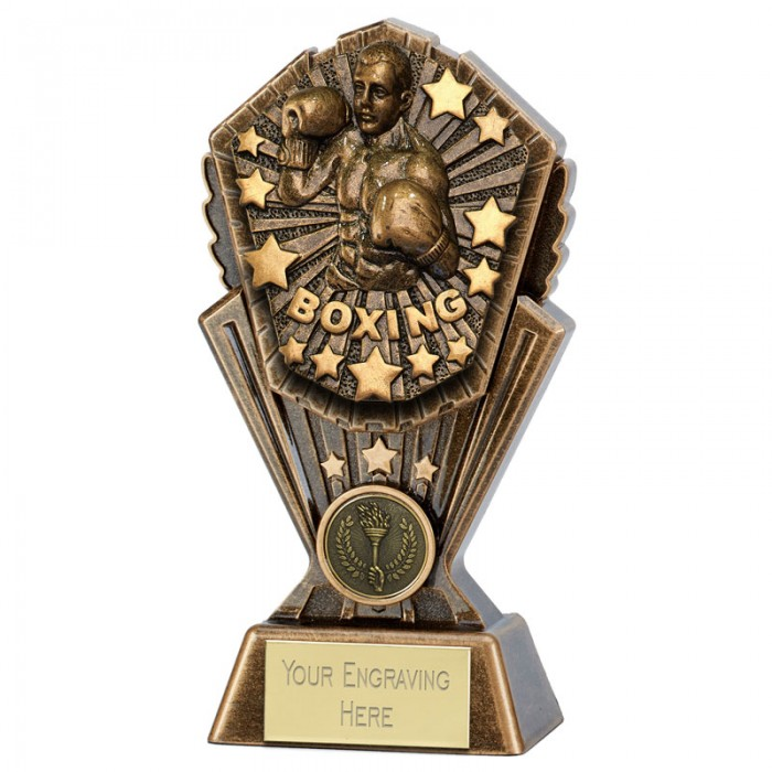 COSMOS BOXING RESIN TROPHY - 7''