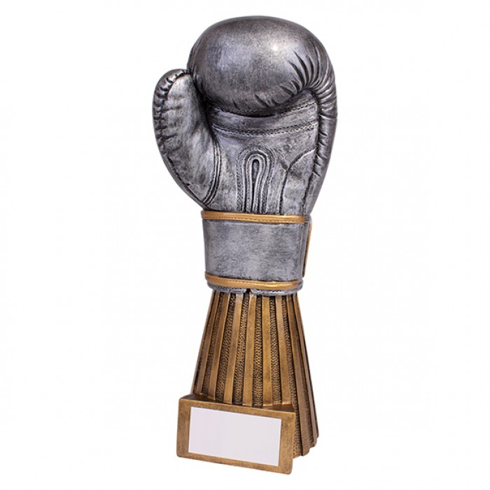 CHALLENGER BOXING RESIN TROPHY - 9''