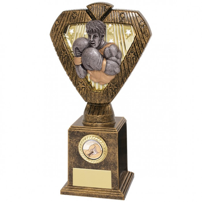 HERO LEGEND BOXING RESIN AWARD - 4 SIZES STARTING FROM 8''