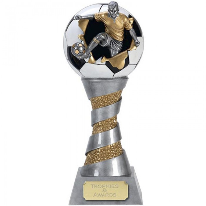 FOOTBALL RESIN TROPHY 8""