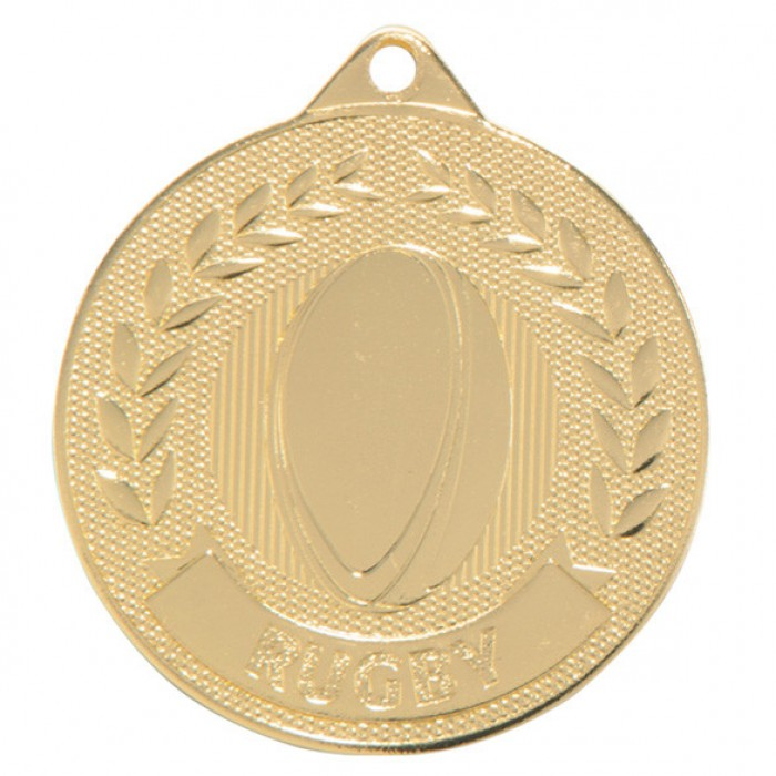 DISCOVERY RUGBY MEDAL 50MM - GOLD, SILVER & BRONZE