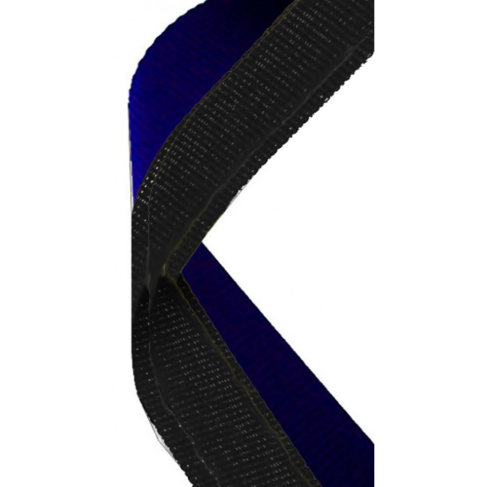 22mm blue/black ribbon