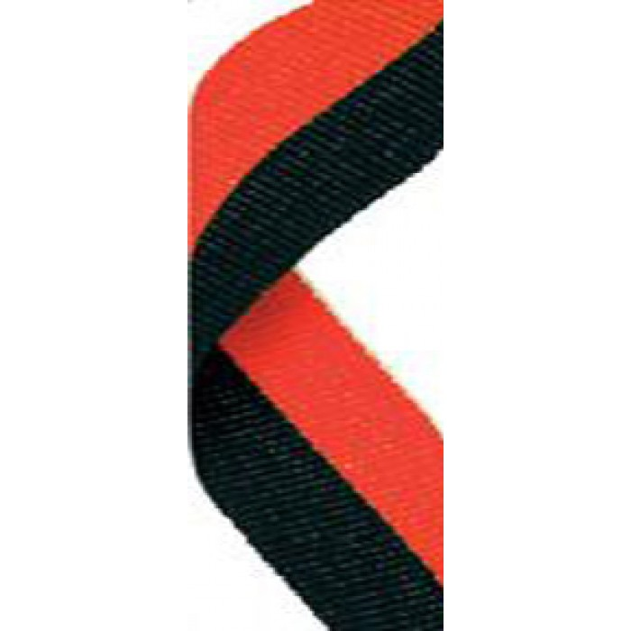22mm red/black ribbon