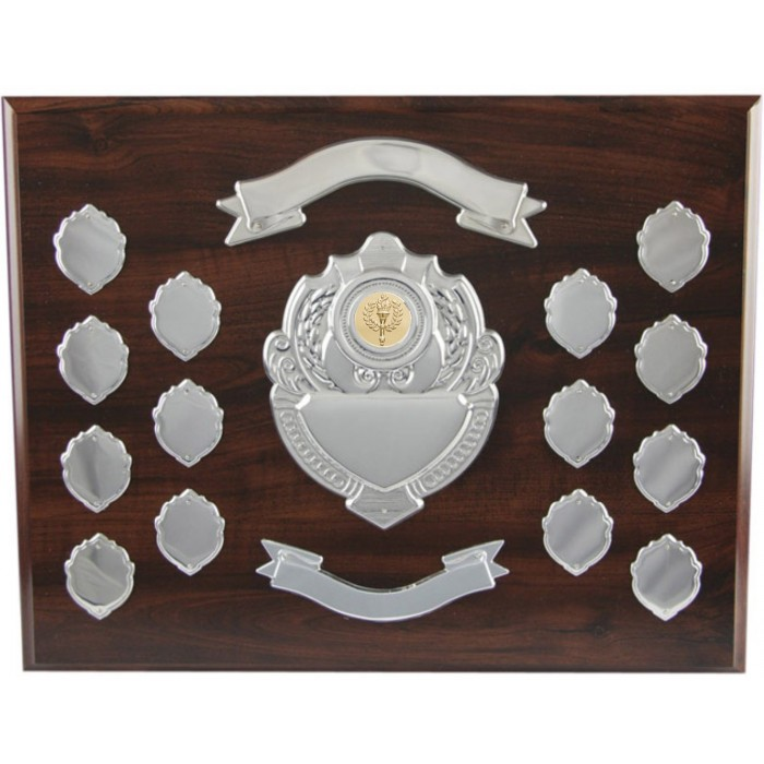 "Annual 12""  Wooden Shield"