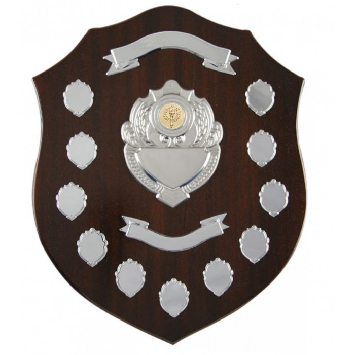 "Annual 16""  Wooden Shield"