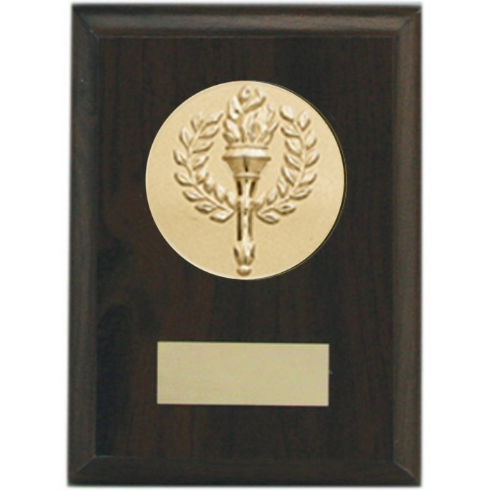 Budget wooden plaque 5'' - choice of sports centre