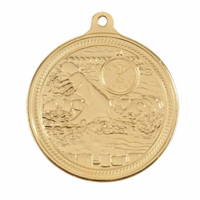 ENDURANCE SWIMMING MEDAL - 50MM - GOLD, SILVER & BRONZE