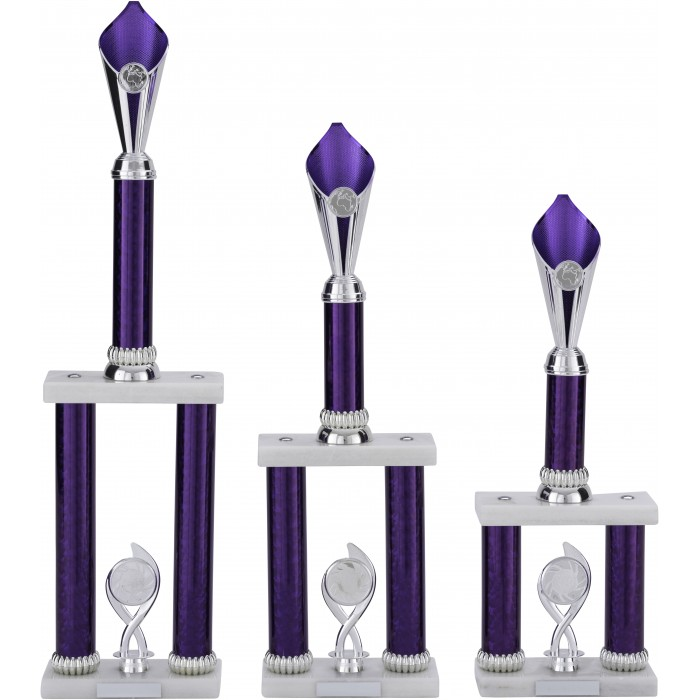 PURPLE TOWER AVAILABLE IN 5 DIFFERENT COLOURS - 3 SIZES