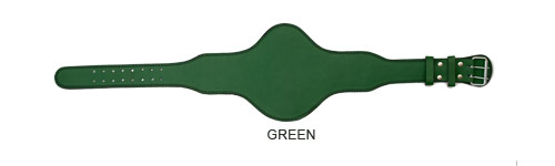 green-oval-standard-leather